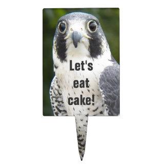 Peregrine Falcon Photo Cake Topper