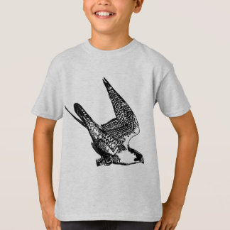 Peregrine Falcon Sketch T-Shirt