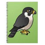 Peregrine Falcon Spiral Note Books