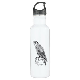 Peregrine Falcon Stainless Steel Water Bottle
