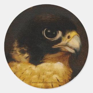 """""""Peregrine Falcon"""" stickers"""