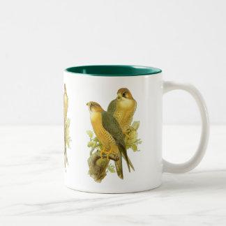 Peregrine Falcon Two-Tone Coffee Mug