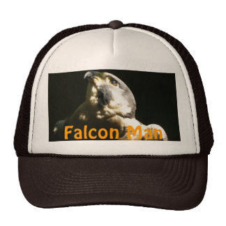 Peregrine Falcon - Wildlife Photo Portrait Trucker Hat