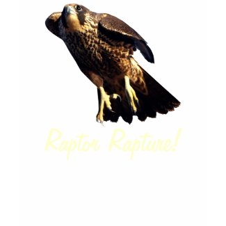 PEREGRINE FALCON Wildlife Raptor Bird Shirt zazzle_shirt
