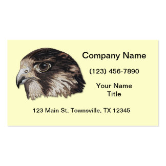 Peregrine Faux Embroidery Business Card Templates