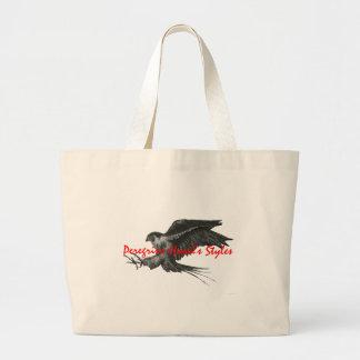 Peregrine Hawk canvas bag