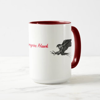 Peregrine Hawk Two Tones Mug
