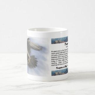 Peregrine in Flight Mug