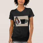 Peregrino de la acción de gracias de Basset Hound Camiseta