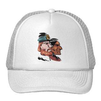 peregrino y natural gorras de camionero