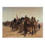 Peregrinos que van a La Meca, 1861 Tarjetas Postales
