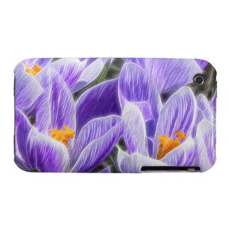 Perennial Bulbs - Spring Crocuses iPhone 3 Case-Mate Case