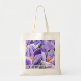 Perennial Bulbs - Spring Crocuses Tote Bag