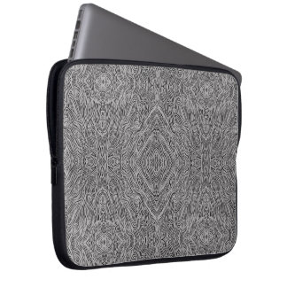 Perennial pain printed laptop sleeve