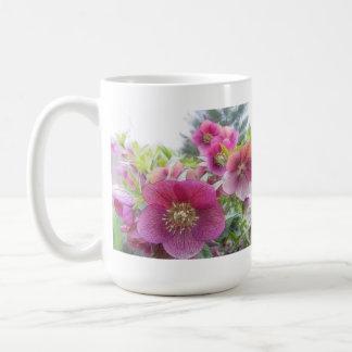 Perennial Plants - Purple Hellebore Classic White Coffee Mug