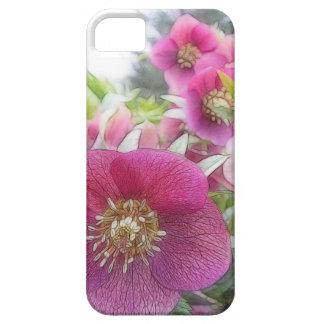 Perennial Plants - Purple Hellebore iPhone SE/5/5s Case