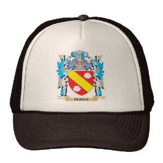 Peres Coat of Arms - Family Crest Trucker Hat
