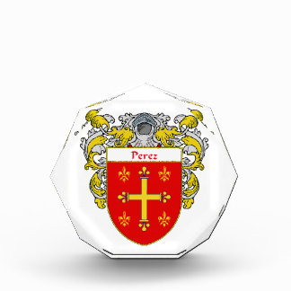Perez Coat of Arms Family Crest Awards