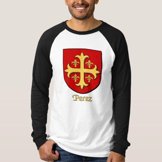 Perez Family Shield Long Sleeve T-Shirt