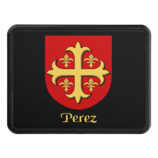 Perez Family Shield Tow Hitch Cover