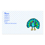 Perez Peacock Business Card