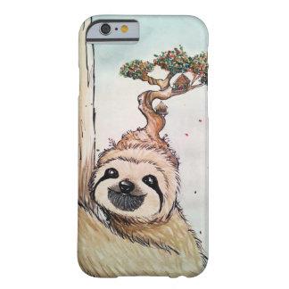 Pereza animal linda con la casa en el árbol de los funda barely there iPhone 6