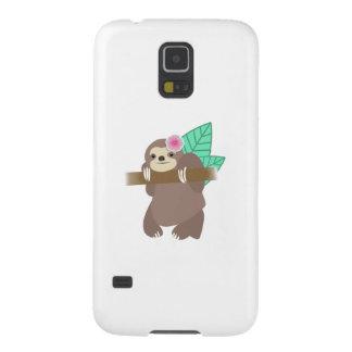 Pereza con el ejemplo de Digitaces de la flor Carcasas De Galaxy S5