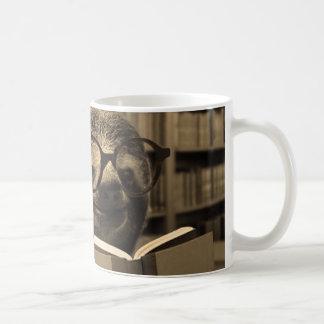 Pereza de la lectura taza de café