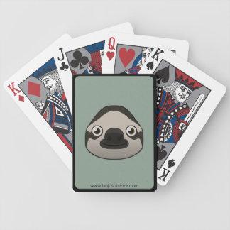 Pereza de papel baraja cartas de poker