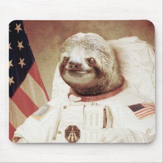 Pereza del astronauta alfombrilla de raton