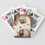 Pereza del astronauta baraja cartas de poker