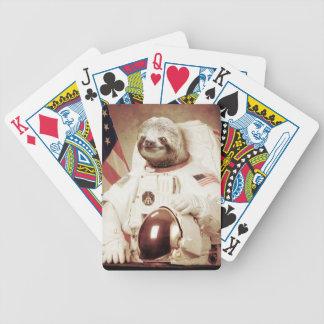 Pereza del astronauta cartas de juego