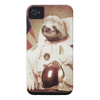 Pereza del astronauta iPhone 4 Case-Mate coberturas