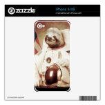 Pereza del astronauta iPhone 4 skins