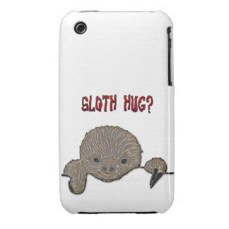 Pereza del bebé del abrazo de la pereza iPhone 3 protector