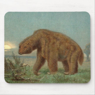 Pereza del gigante del Megatherium Alfombrilla De Ratón