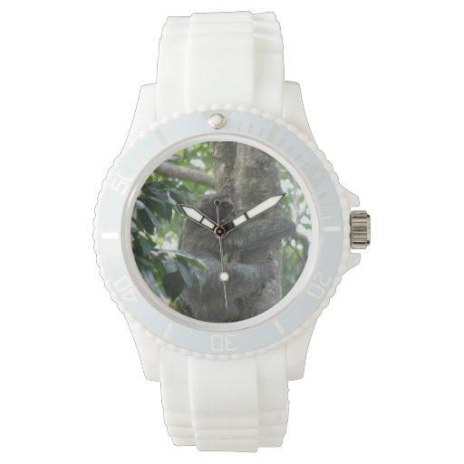 Pereza perezosa reloj de mano