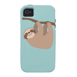 Pereza Tres-Tocada con la punta del pie linda Case-Mate iPhone 4 Fundas