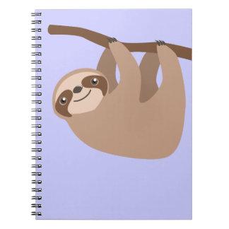 Pereza Tres-Tocada con la punta del pie linda Notebook