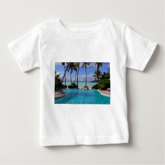 Perfct Infinity pool on Vanilla Iceland Baby T-Shirt