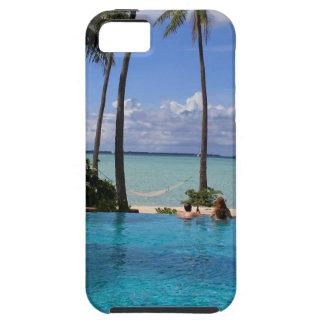 Perfct Infinity pool on Vanilla Iceland iPhone SE/5/5s Case