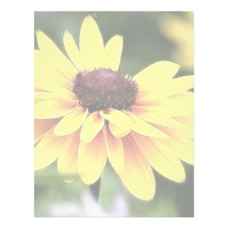 Perfección del jardín - Susan observada negro Membrete A Diseño