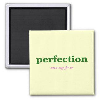 Perfección Imán Cuadrado