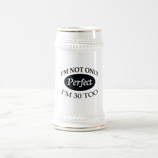 Perfeccione 30 tazas de café