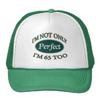 Perfeccione 65 años gorra