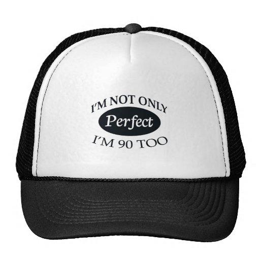 Perfeccione 90 gorras de camionero