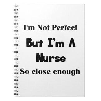 Perfeccione a la enfermera notebook