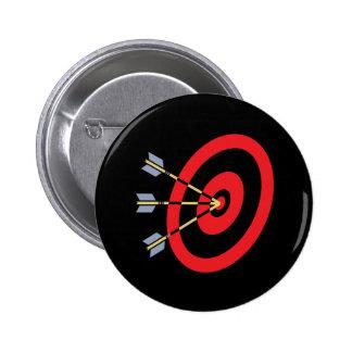 Perfeccione el objetivo pin redondo de 2 pulgadas