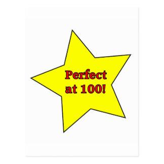 ¡Perfeccione en 100! Postales