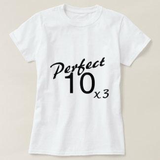 Perfect 10 x3 T-Shirt